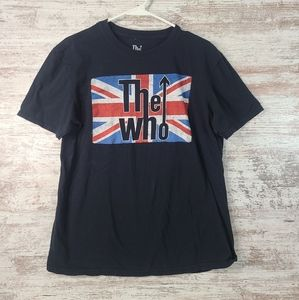 Men's The Who Rock Band black tshirt size Large